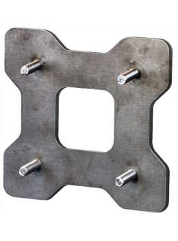 Adapterplatte kurz Toolprotect