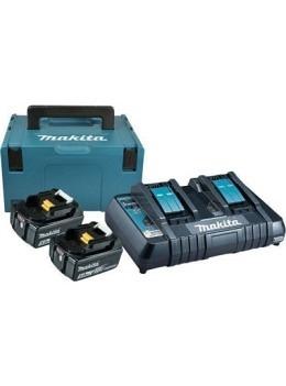 EnergyPack Makita 2xBL1850B+DC18RD+MAKPAC C