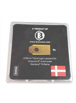 Messerklingen Long Life Safety Blades 0.85mm  9stk.